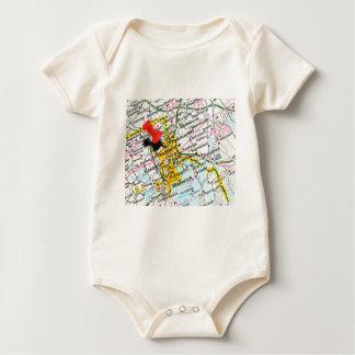 Providence, Rhode Island Baby Bodysuit