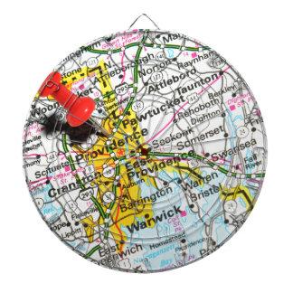 Providence, Rhode Island Dartboard