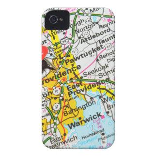 Providence, Rhode Island iPhone 4 Case-Mate Case