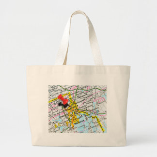 Providence, Rhode Island Large Tote Bag