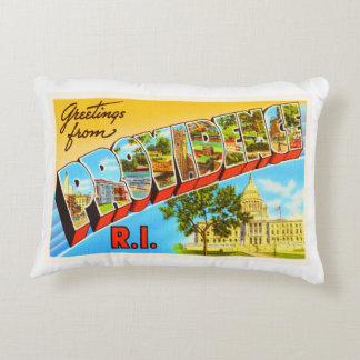 Providence Rhode Island RI Vintage Travel Souvenir Accent Pillow