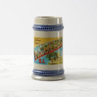 Providence Rhode Island RI Vintage Travel Souvenir Beer Stein