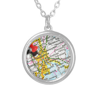 Providence, Rhode Island Silver Plated Necklace