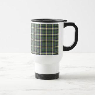 Province of Alberta Canada Tartan Travel Mug