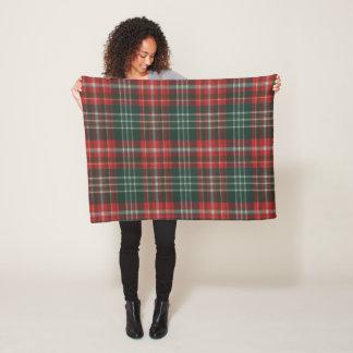 Province of New Brunswick Original Tartan Fleece Blanket