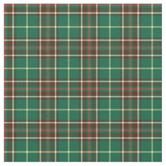 Province of Newfoundland Canada Tartan Fabric