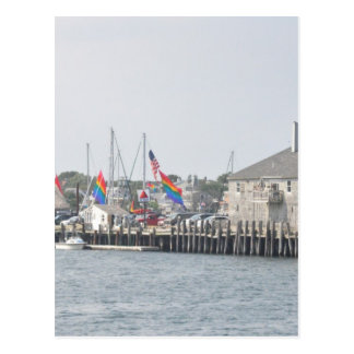 Provincetown Bay Postcard