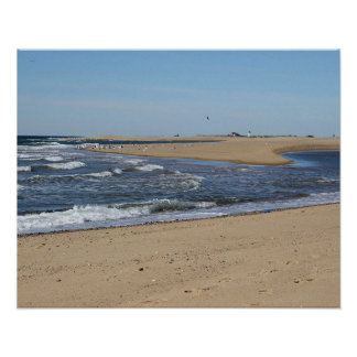 Provincetown Beach on Cape Cod Poster