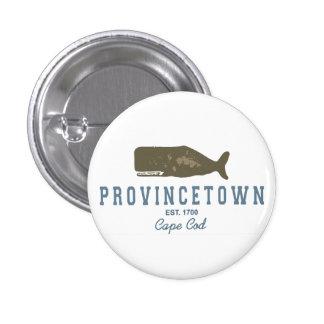 Provincetown - Cape Cod. 1 Inch Round Button