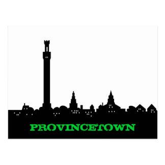 Provincetown cartoon postcard