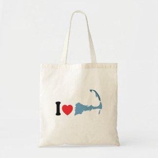 """Provincetown """"I Love"""" Design. Tote Bag"""