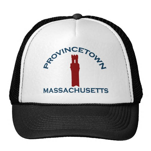 "Provincetown ""Lighthouse"" Design. Hats"