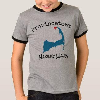 Provincetown Mass Making Waves boy's shirt