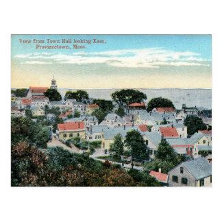 Provincetown, Massachusetts, Bird's Eye, Vintage Postcard