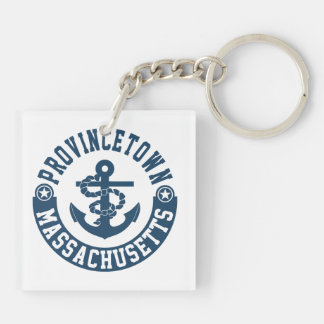 Provincetown Massachusetts Keychain