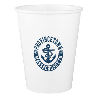 Provincetown Massachusetts Paper Cup