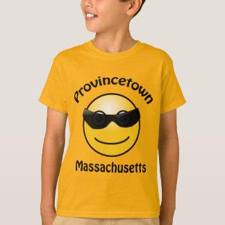 Provincetown, Massachusetts Smilie Kids T-shirt