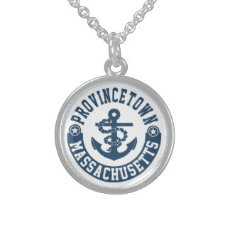 Provincetown Massachusetts Sterling Silver Necklace