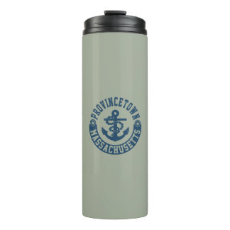 Provincetown Massachusetts Thermal Tumbler