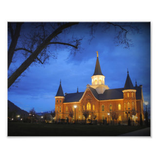 Provo Town Center LDS Temple Photo Print