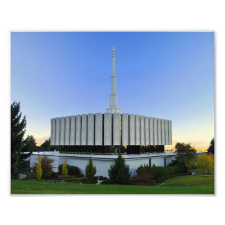 Provo, Utah LDS Temple Photo Print