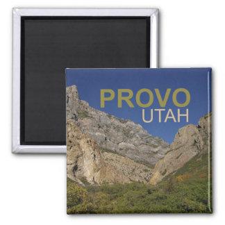 Provo Utah Travel Photo Souvenir Fridge Magnet