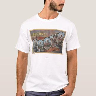 Provo, UtahLarge Letter ScenesProvo, UT 2 T-Shirt