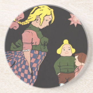Provodnik Rubber Toys Russian Vintage Advertising Coaster