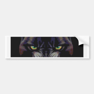 PROWLING PANTHER BUMPER STICKER