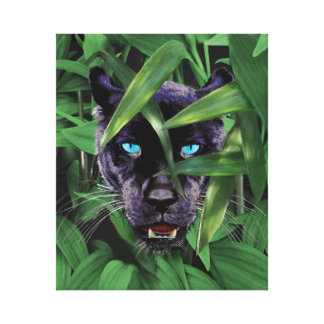 PROWLING PANTHER CANVAS PRINT