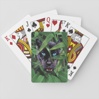 PROWLING PANTHER PLAYING CARDS