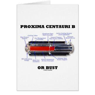 Proxima Centauri b Or Bust RTG Astronomy Humor Card