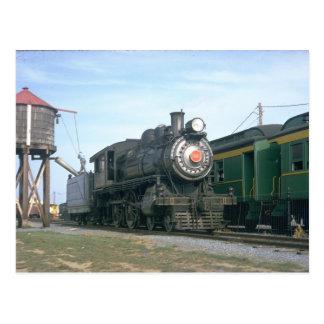 PRR 4-4-0 class D16sb Postcard