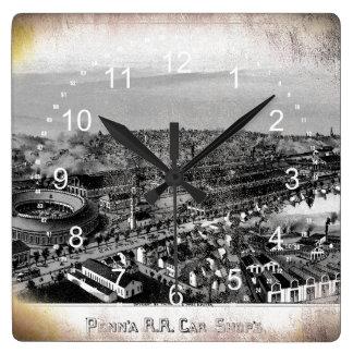 PRR Altoona Shops 1895 Wall Clock