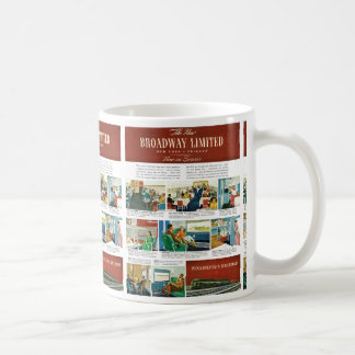 PRR New Broadway Limited Coffee Mug