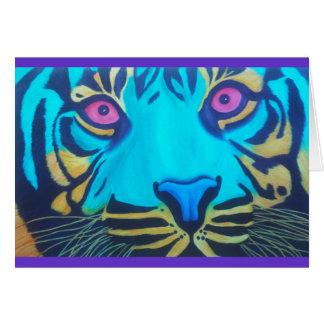 Pru the Tiger Card