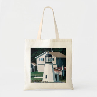 Prudence Island Lighthouse Budget Tote
