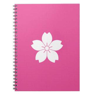 Prunus tomentosa notebook