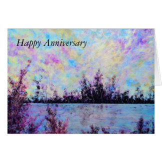 Pruple One - Anniversary Card by Jane Howarth