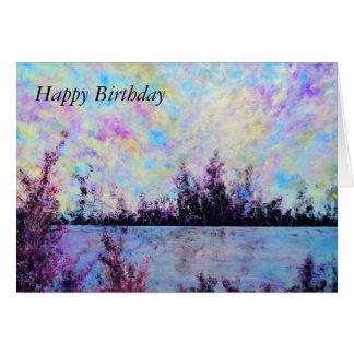 Pruple One - Birthday Card by Jane Howarth