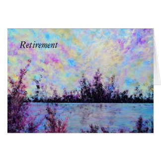 Pruple One - Retirement Card by Jane Howarth