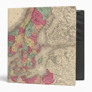 Prussia Sweden Norway and Denmark Vinyl Binder