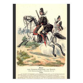 Prussian Cavalry Postcard