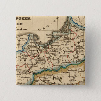 Prussian Empire 2 Inch Square Button