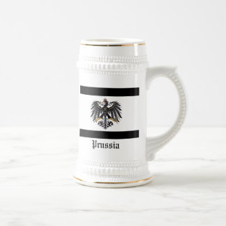 Prussian_flag, erdman Family Crest, Prussia Beer Stein