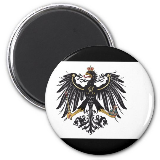 Prussian flag magnet
