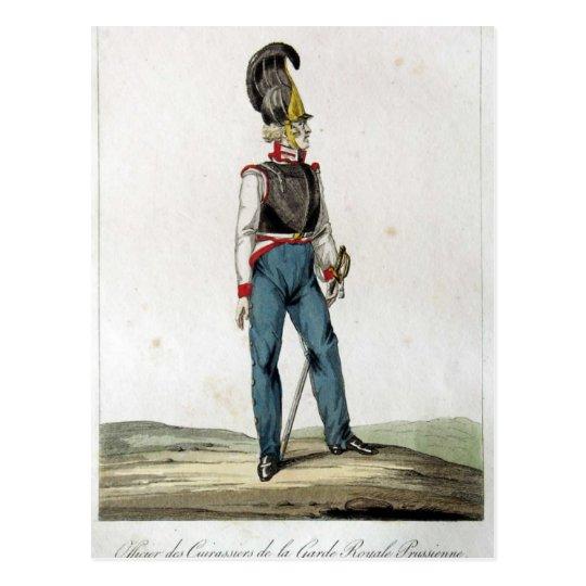 Prussian Guard Cuirassier Postcard