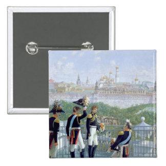Prussian King Friedrich Wilhelm II 2 Inch Square Button