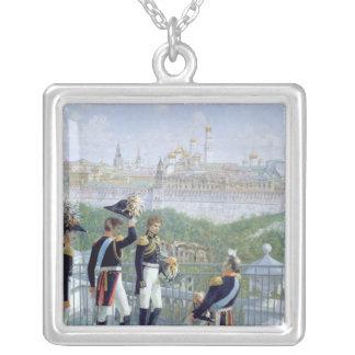 Prussian King Friedrich Wilhelm II Silver Plated Necklace