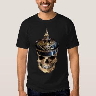 prussian skull tshirt